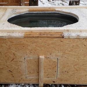 Bauanleitung frostfreie Tränke